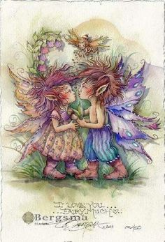 I love you ... fairy much ...