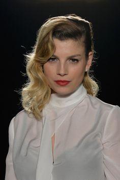 Sfilate Milano Moda Donna Febbraio 2014: la seduzione di Francesco Scognamiglio, guest Emma Marrone