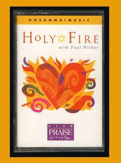 Hosanna! Music - Holy Fire (1997 Cassette Tape VG) PRAISE WORSHIP CCM OOP