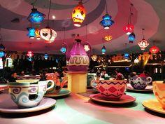 Alice in Wonderland Tea Cups. Kamekura: Make the Most of a Passport Ticket at Tokyo Disneyland Wonderland Party, Alice In Wonderland, Popcorn Stand, Alice Tea Party, Creative Communications, Visit Tokyo, Flavored Popcorn, Thing 1, Tokyo Disneyland