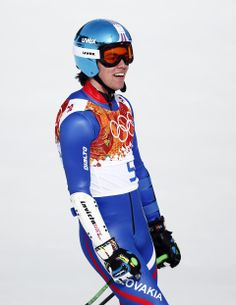 DAY 10:  Matej Falat of Slovakia competes during the Alpine Skiing Men's Super-G http://sports.yahoo.com/olympics