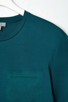 Bonded pocket t-shirt - COS
