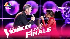 "The Voice 2017 Aliyah Moulden and Blake Shelton - Finale: ""Dancing in th..."