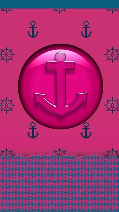 Walls made to suit an old icon from the Miss Sexy Sailor Theme. Anchor Wallpaper, Nautical Wallpaper, Matching Wallpaper, Iphone 6 Wallpaper, Summer Wallpaper, More Wallpaper, Colorful Wallpaper, Wallpaper Backgrounds, Phone Backgrounds