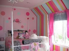 paint ideas for girls bedrooms - Google Search