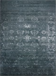 Silk Shadows Hand-Knotted Rug by Nourison at Gilt Hand Knotted Rugs, Hand Weaving, Growing Grass, Synthetic Rugs, Tabriz Rug, Grey Carpet, Natural Rug, Carpet Runner, Area Rugs