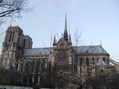 The Notre Dame Cathedral - Paris