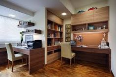 I like the combination of the desk and upper unit.