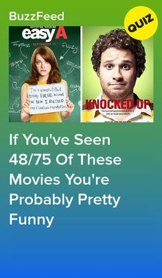If You've Seen 48/75 Of These Movies You're Probably Pretty Funny