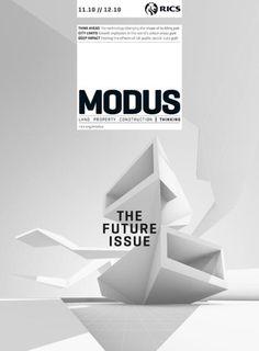 Modus magazine designed by Sunday Publishing