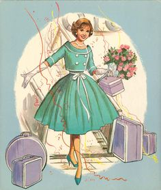 1960 Debbie Reynolds paper doll back cover, just love this picture / eBay