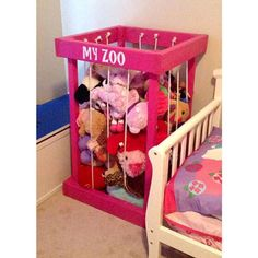 stuffed animal storage gifts for kids room