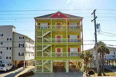 Sandy Paws And Feet (Elliott Beach Rentals) Location: Ocean Front Beds: 8 Baths: 7 full, 1 half Sleeps: 36