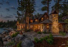 East Shore Residence - Dennis E. Zirbel, Architect :: Truckee, CA
