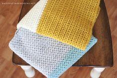 Color Block Blanket Free Crochet Pattern | Free Crochet Patterns