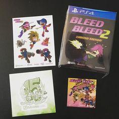 #Bleed #Bleed2 von @eastasiasoft @playasia kam heute mit der Post  Aber auf ein weiteres Highlight warte ich gerade noch  #PlayStation4 #PS4 #LimitedGame #mailday #nescommando