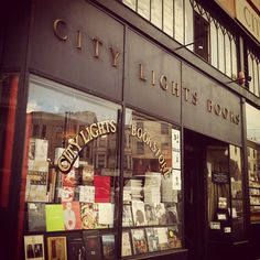 City Lights Bookstore, San Francisco, California // I heard they closed, tell me it's not true.