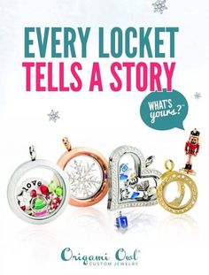 www.facebook.com/o2aliciab #o2holidaystyle #origamiowl Origami Owl Holiday 2014 #hollyjollyhappy Everyone loves gift that truly represent themselves and their story.  Let me help you design something special for your loved ones!  I have just what you need :)
