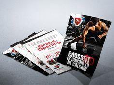 CrossFit Gym Flyer Design Alternate Concept