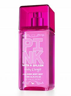 pink victoria secret | Body Splash PINK – Victoria's Secret