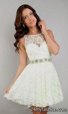 short white prom dresses with sleeves 2016-2017 » B2B Fashion 14c8db778