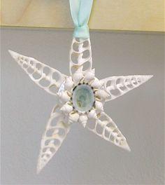 Beach Christmas Ornament. $18.00, via Etsy.