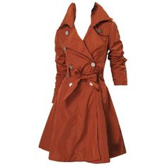 Burnt Orange Trench