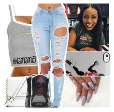 """""""this real cute!"""" by lamamig ❤ liked on Polyvore featuring Topshop, ZoÃ« Chicco, MICHAEL Michael Kors, Retrò, women's clothing, women's fashion, women, female, woman and misses"""