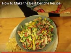 Ceviche Come take a journey with us watch the videos - Spain Info Best Ceviche Recipe, Moroccan Lamb Recipe, How To Make Ceviche, Peruvian Dishes, Unique Recipes, Ethnic Recipes, Lamb Recipes, How To Squeeze Lemons, Fresh Lime Juice