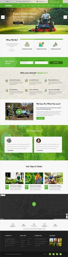 Garden love is a wonderful 3in1 responsive #HTML5 bootstrap template for #gardener, lawn services, #agriculture service websites download now➩ https://themeforest.net/item/garden-love-landscaping-gardening-html-template/19515597?ref=Datasata  #LandscapingGarden