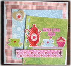foto en scrap: time for tea