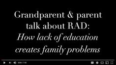 4 reasons friends & family misunderstand parents of kids with reactive attachment disorder – Institute For Attachment and Child Development