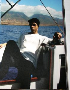 Prince on the boat...one of my favorite pictures of him. So unexpected