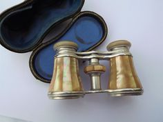 Mother of Pearl, Opera Glasses, Lemaire, Paris, Victorian, Edwardian, Cased, Binoculars, Gift, Vintage, Opera, Concert, Theatre, Festival by DecadentAndFabulous on Etsy