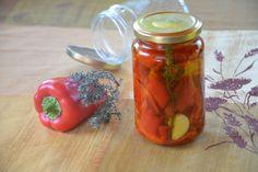 Méthode facile et rapide pour réaliser ses propres conserves poivrons grillés (conservation à l'huile d'olive) et garder des saveurs d'été tout l'hiver !