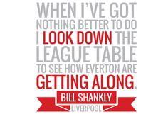 Bill Shankly Everton Quote Wall Sticker by Bandit Nanna Real Soccer, Soccer Fans, Liverpool Fans, Liverpool Football Club, Best Football Team, Football Art, Wall Sticker, Wall Decals, Bill Shankly