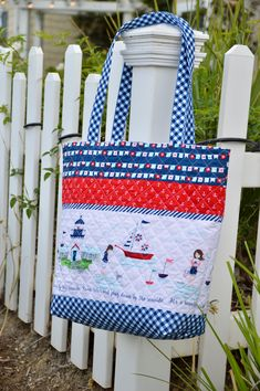 Quilted tote bag sewing tutorial