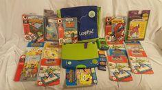 LEAP FROG LEAPFROG LOT OF 23 LEAPPAD KIDS WHO LEARN EARN MORE $ #LeapFrog