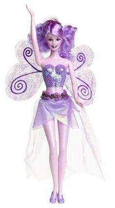 Barbie Fairytopia - Lavender Sparkle Fairy Barbie Doll Mattel http://www.amazon.com/dp/B0000C8RM3/ref=cm_sw_r_pi_dp_sU0tvb013CT1S