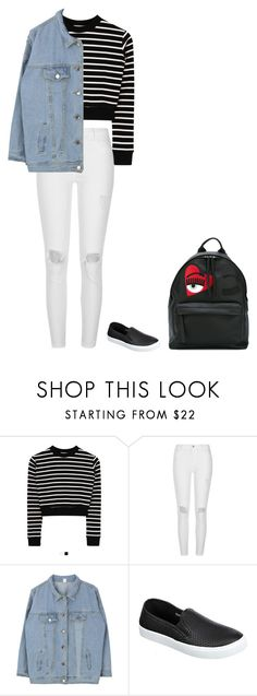 """School pt.2"" by ifrancesconi on Polyvore featuring River Island and Chiara Ferragni"