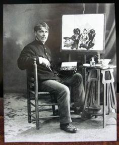 """Bekend aquarel van Rik Wouters """"teruggevonden"""" - Beeldende kunst - Cultuur - Knack.be"""