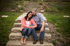 Photo by Brian Slawson Photography. Engagement shoot. Boerner Botanical Gardens. Whitnall Park. Hales Corners, WI. #engagements #weddingplanning #outdoor
