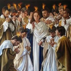 """Carmelite Connection on Instagram: """"When the day of Pentecost had come, they were all together in one place. And suddenly, a sound came from heaven like the rush of a mighty…"""" Spirit Of Truth, Holy Spirit, Catholic Radio, Thomas The Apostle, Robert Reed, Day Of Pentecost, God 7, Images Of Mary, The Descent"""