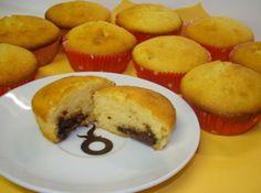 Nutellás muffin recept: Egyszerű, és nagyszerű a nutellás muffin! :) Kell ennél jobb recept?! Nutellás muffin recept