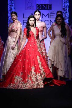 Architha Narayanam | Lakmé Fashion Week winter/festive 2016 #ArchithaNarayanam #LFWWF2016 #PM
