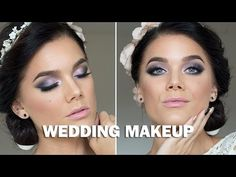 Wedding Makeup (with subs) - Linda Hallberg Makeup Tutorials - YouTube