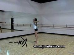 How To Do a Side Leg Hold Turn Tutorial and Demonstration from Just For Kix Jazz Dance Moves, Dance Tips, Dance Lessons, Dance Videos, Tap Dance, Pole Dancing, How To Do Dance, Just Dance, Royal Ballet