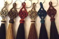 Alamar Knot Horse Hair Key Chains