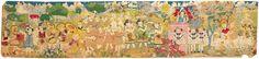 Henry Darger - UNTITLED (Idyllic Landscape with Children) | American Folk Art Museum