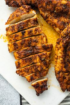 Air Fryer Grilled Chicken Breasts   Gimme Delicious Air Fryer Recipes Chicken Breast, Grilled Chicken Breast Recipes, Chicken Strip Recipes, Air Fryer Oven Recipes, Fried Chicken Breast, Air Frier Recipes, Air Fryer Dinner Recipes, Chicken Breasts, Grill Recipes
